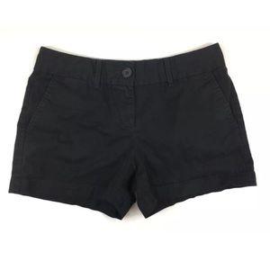 LOFT Ann Taylor 2 Black Chino Shorts